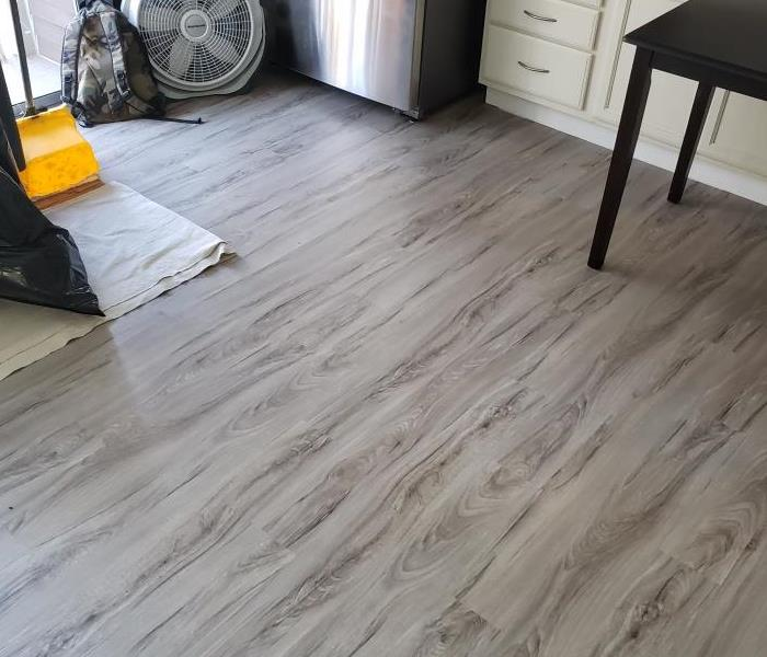 clean wooden flooring