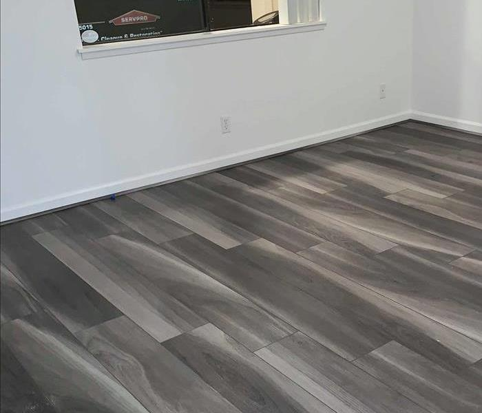 modern wood flooring with clean trim