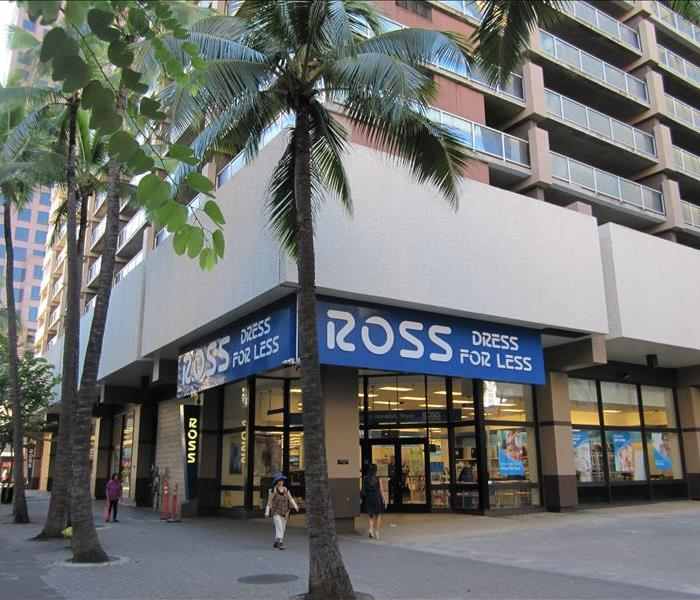 store front of Ross building